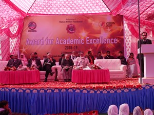 Scholars, journalists and students honoured with Excellence Awards in Mewat