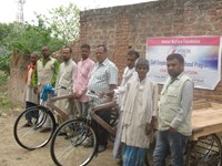 Four Carts Distributed at Saiyadraja, Chandauli UP East