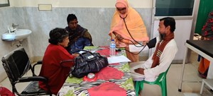 Free Medical Camp organized at Harinkola, West Bengal